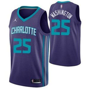 Charlotte Hornets P.J. Washington Purple Jersey